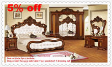 unique bedroom sets in 5PCS for one set , have 5%off
