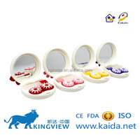 kaida A-8063-1 contact lens dropship contact lenses case with crystal