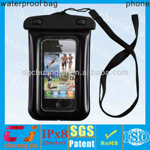 Underwater 20M waterproof case for iphone 5 with earphone