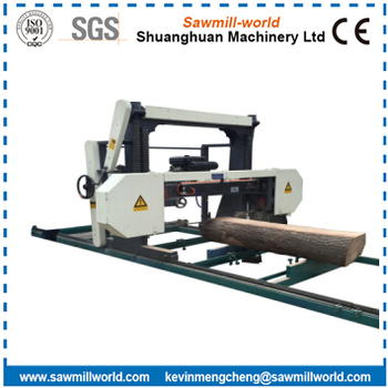 Portable Horizontal Wood Bandsaw Sawmill