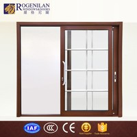 ROGENILAN 180# wholesale top rated large double pane sliding glass doors