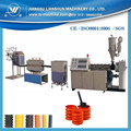 High standard machine PE carbon spiral reinforced tube extrusion line