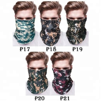 KaPin Cheap Elastic Tubular Cycling Bandanas Seamless Headscarf for Men Wowen