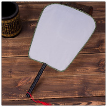 Chinese silk fan fancy diy blank hand fans