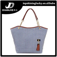 Best selling lady bags latest fashion canvas gorgeous brand handbags
