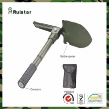 Chinese Stainless Steel Multi-function Military Camping Folding Shovel