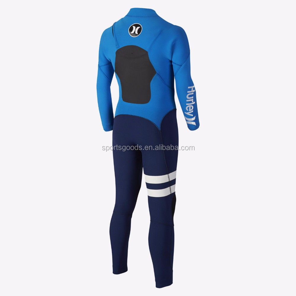 2017 customized 3mm color neoprene wetsuit for surfing and diving