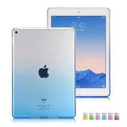 Factory Price TPU Soft Back Cover Colorful Transparent Case for iPad mini 4