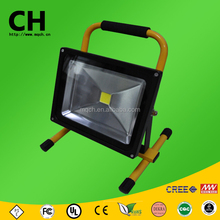 30 w cob y smd mango recargable de carga led exterior de trabajo light led flood light lámpara de mano portable