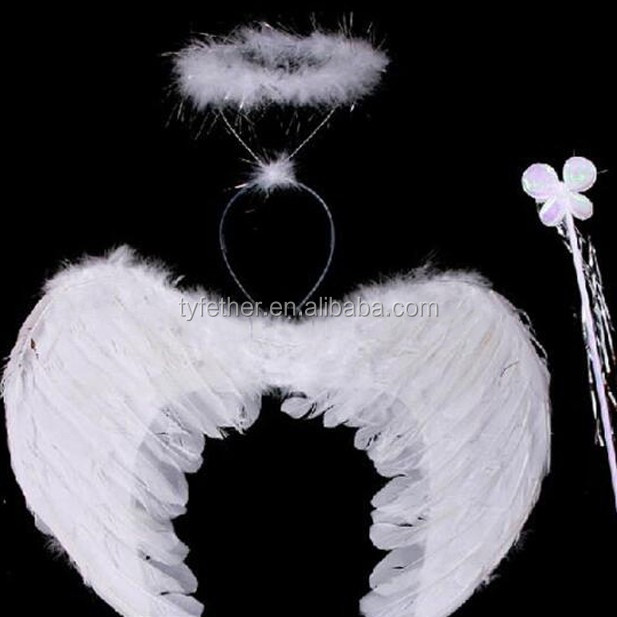 cheap hot sale fashion goose feather angel wings