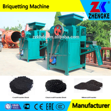 High pressure 2 rollers mechanical coal ball press machine for South Africa