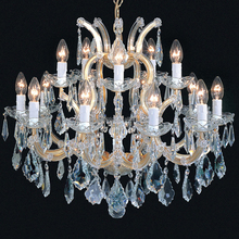 Chandelier Crystals Modern Hanging Lights Glass Pendant Lamps CZ6146/16