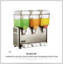 industrial cold soda beverages juicer, cold drinks juicer, cold beverage dispenser machine