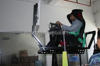 assemble driving simulator equipment widespread car race game with best accelerator of quality excellency popularity