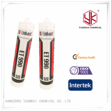 Quick drying high quality acetic structural silicone sealant made in china 300ml