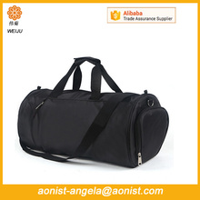 Durable gym bag large space sport duffer foldable travel bag