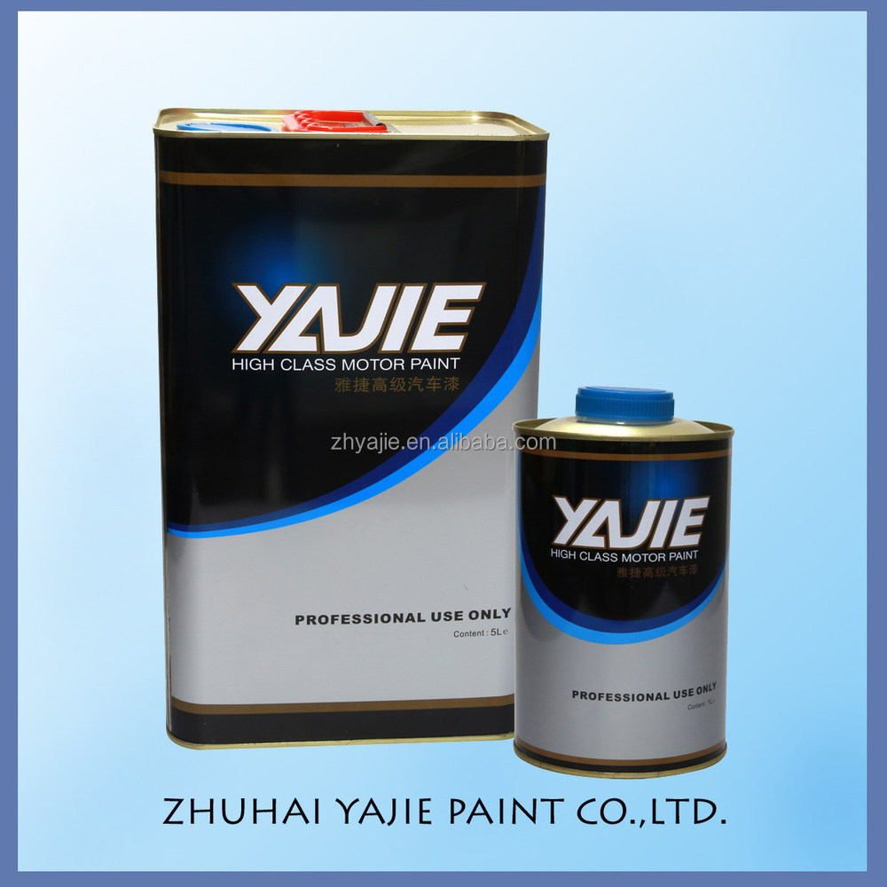 Acrylic Material Transparent Varnish 2K Spray Clear Coat Mirror Auto Paint