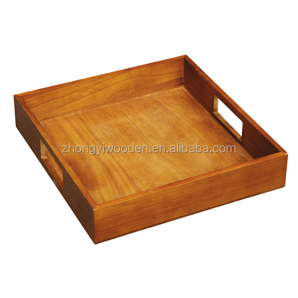 factory sale FSC bamboo wooden Breakfast Coffee Table serving tray