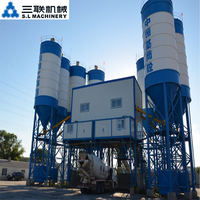 New universal movable concrete mixing plant / mixer machine price