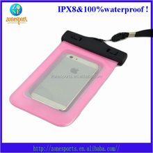 2014 high quality waterproof mobile phone case card mobile phone bags and case