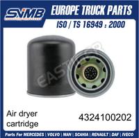 Air Dryer Cartridge 4324100202 For Daf Truck