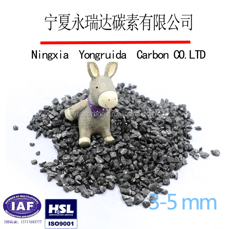 Low sulfur carbon additive/carbon raiser/recarburizer used for steelmaking
