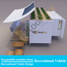 Koolbox expandable shipping container modular homes/ container housing unit/container cabin for sale