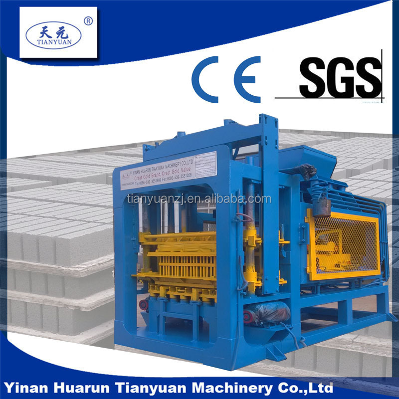 Tianyuan factory small brick making machine packaging automatic Durable