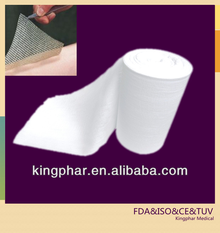 Medical Surgical Consumables Manufacturer Of Absorbent Cotton Gauze In Rolls