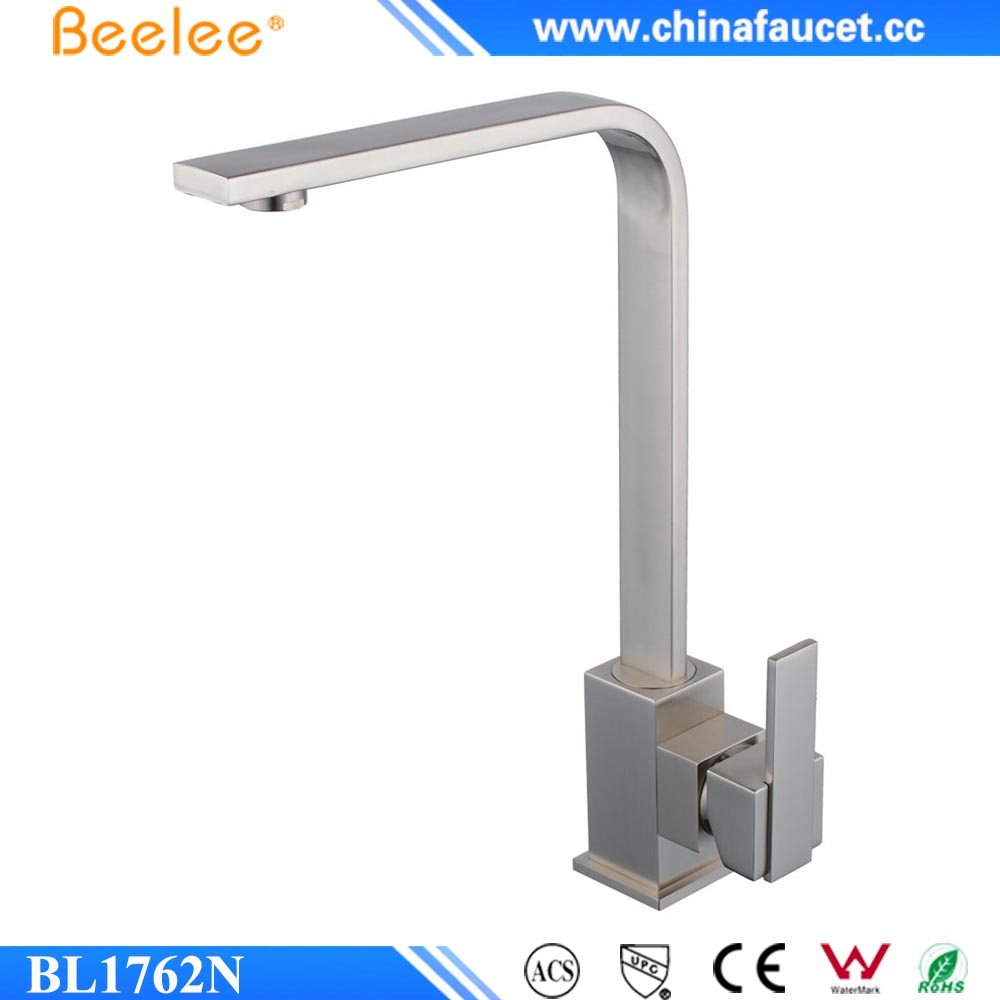 china supplier brushed nickel faucet kitchen - Kitchen Sink Supplier