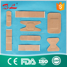 CE, ISO, FDA Approved elastic wound plaster/.Latex Free Band Aid