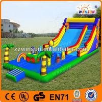 2014 commercial palm playground equipment inflatable slide,inflatabe slides toys,inflatable bouncer slides
