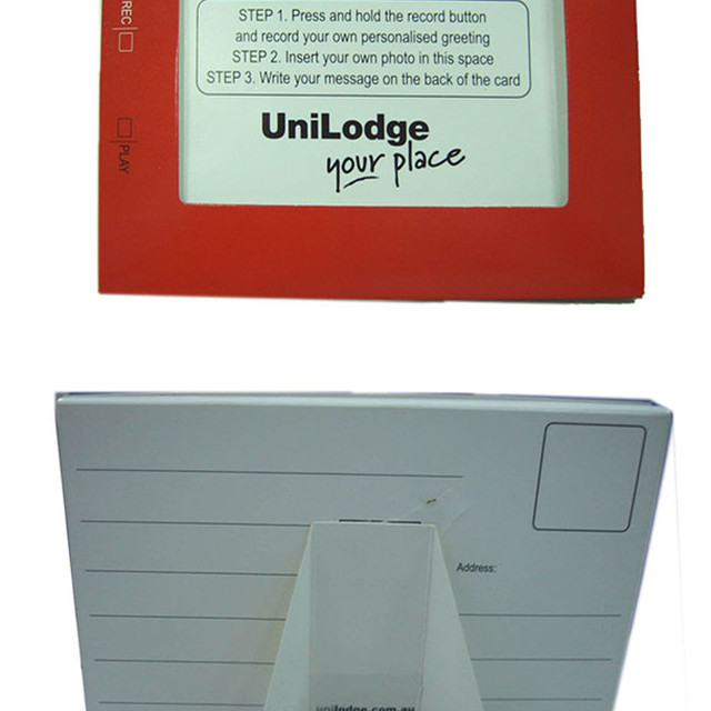 voice recording card / paper photo frame