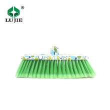 China best price high quality OEM qvailable floor new product head stick plastic broom bristle