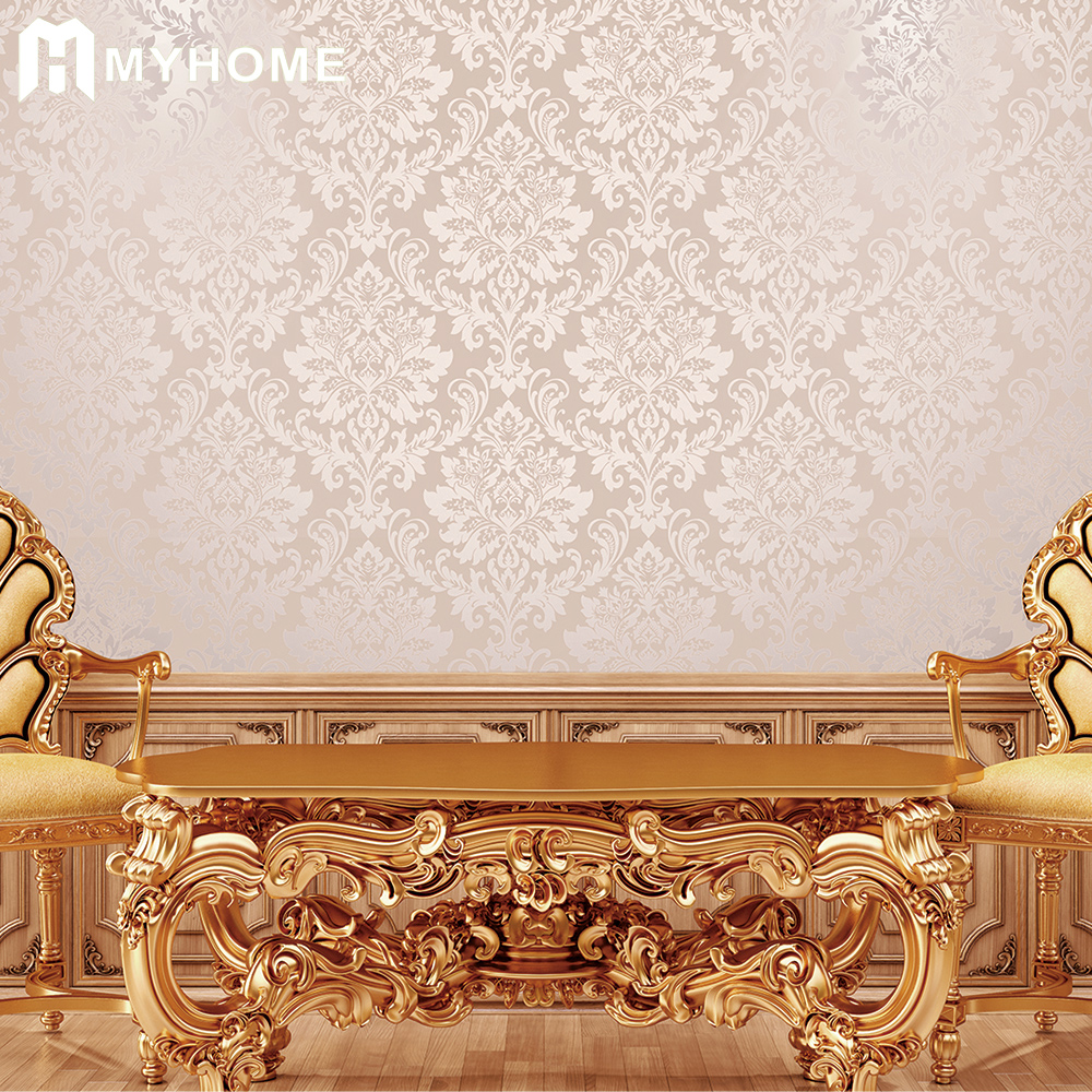 China Guangzhou high quality wall paper supplier Myhome wallpaper