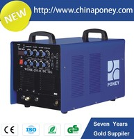 3PH pulse inert gas Stick tungsten arc welding wsme-250 tig welding machine