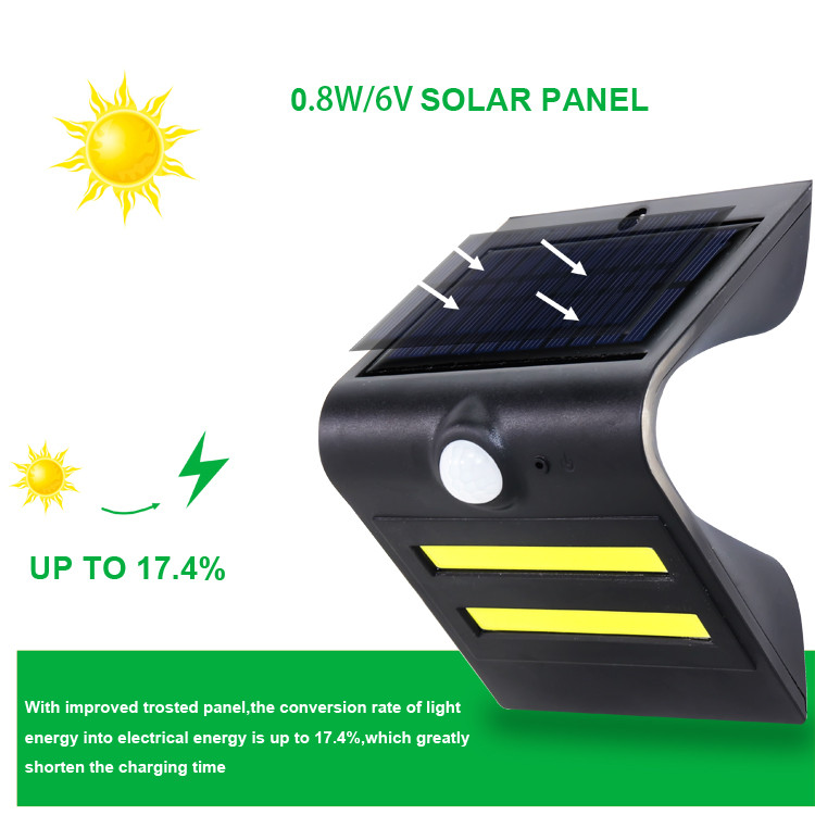 High Quality Motion Sensor Led Solar Garden Light / outdoor lighting garden light housing