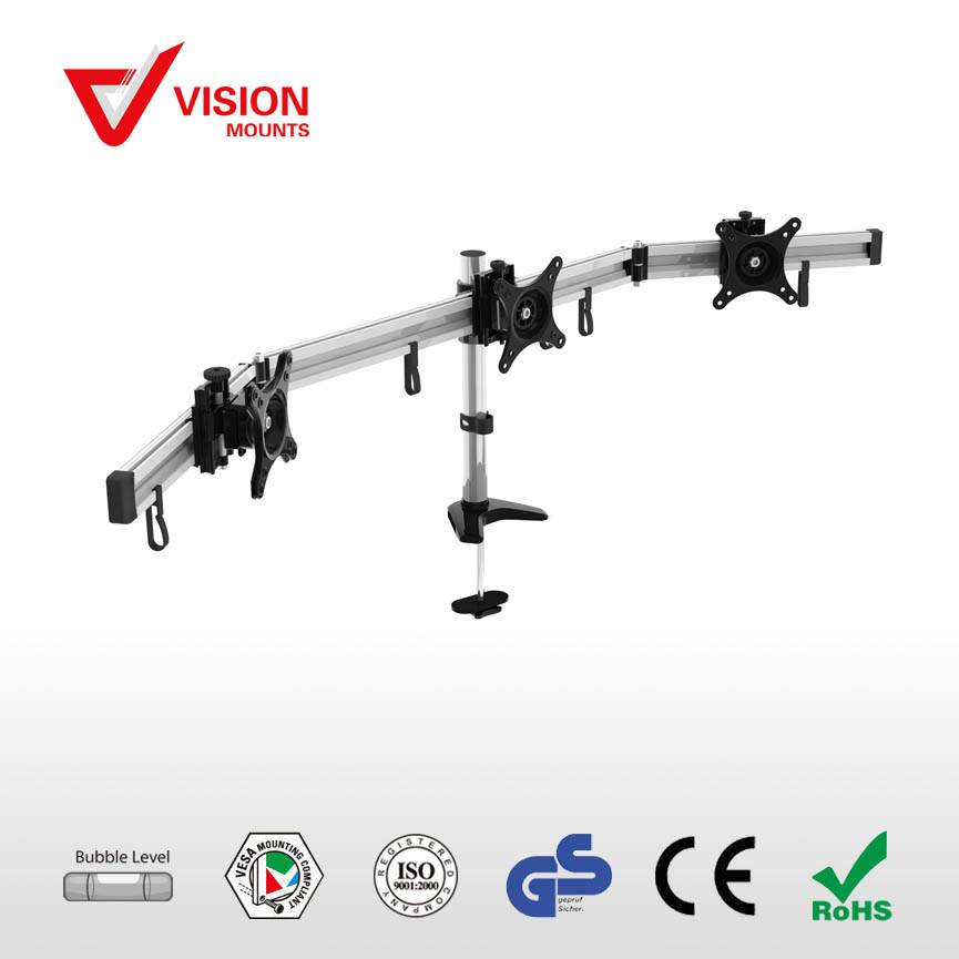 Multi-Monitor Full Motion Desk Mount VM-MP230G B-02