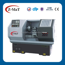 CK6163-450 cnc lathe wheel rim manufacturing machine