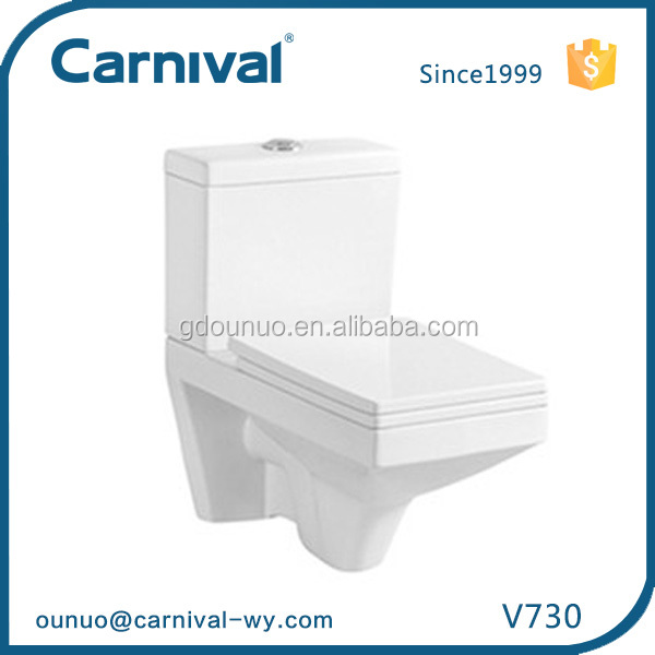 Concealed cistern for Ceramic bath wall-hung toilet V730