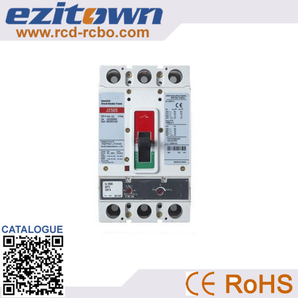 Factory direct sales 630A moulded case circuit breaker gl mcb