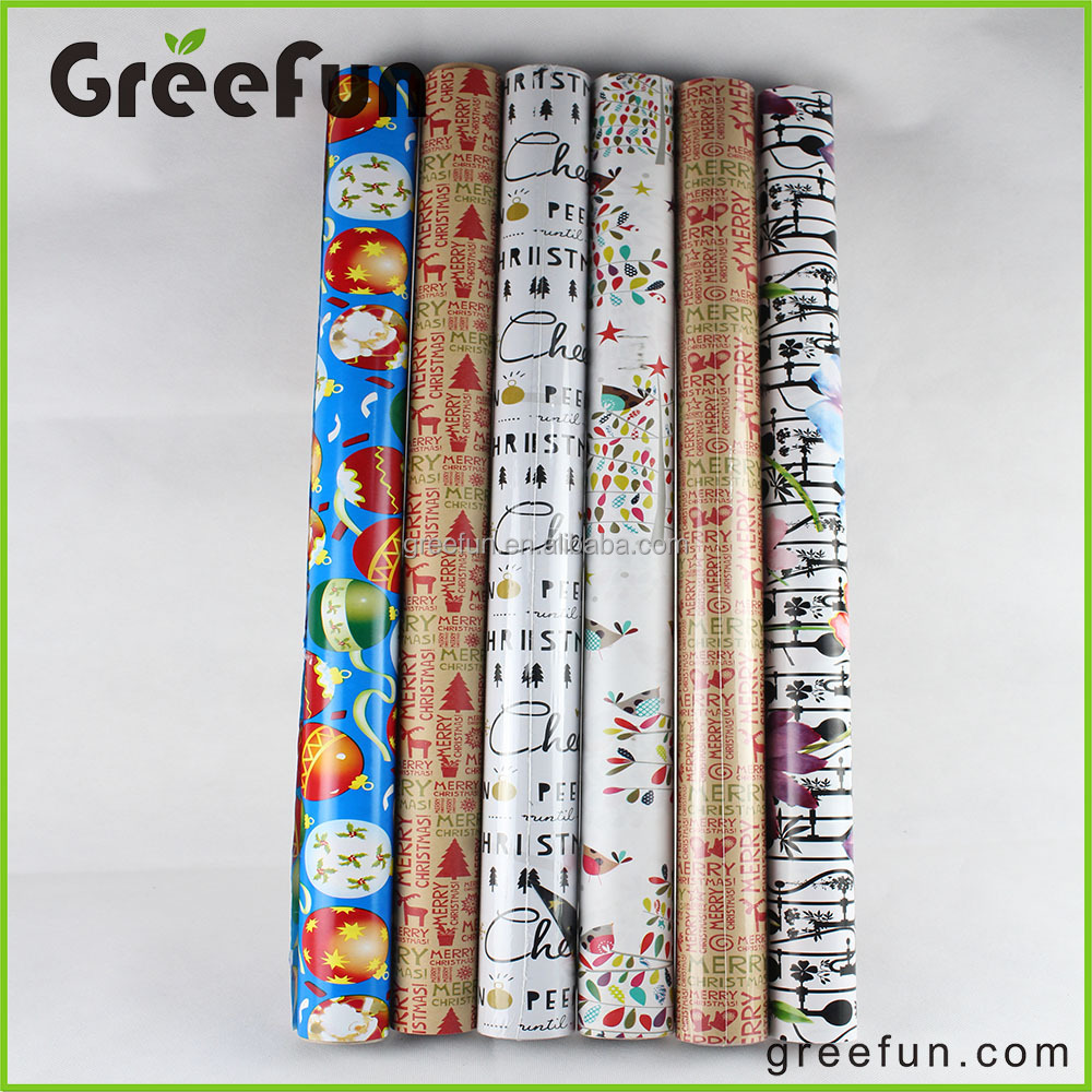 Double Sided Wrapping Paper, Printed Wrapping Paper Double Side, Custom Printed Money Wrapping Paper