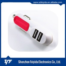 Electric Type and car charger,for mobile phone Use usb car charger 2 port