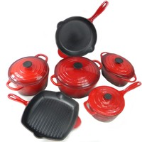 cast iron induction saucepan parini cookware