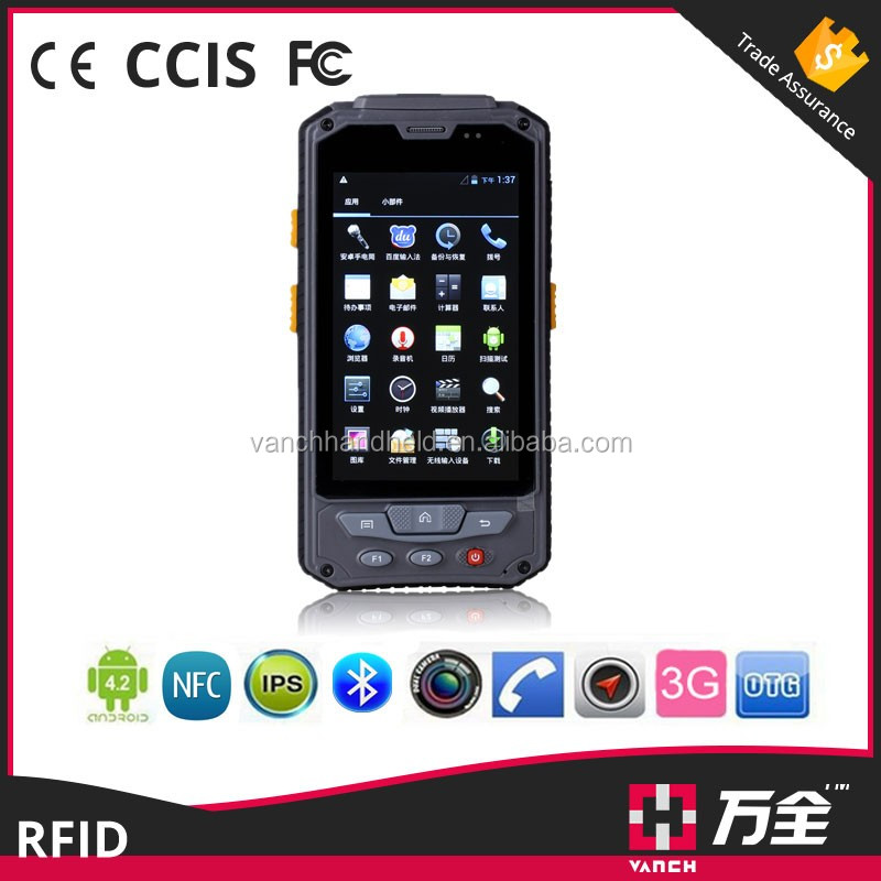 Vanch 4G LTE Android Rugged Handheld Barcode Scanner
