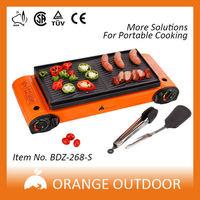 comfortable design double burners 12v cooking appliances