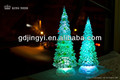 plastic acrylic artificial led christmas tree wholesales