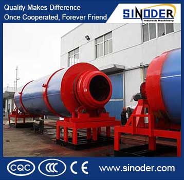 Coffee dryer used for drying slag limestone, coal powder, slag, clay, etc.