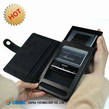 Genuine Leather Case for Sony Reader PRS-T1 eReader