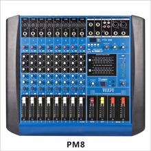 Enping low price PM8-USB powered audio mixer portable 6 8 12 channel power amplifier mixer with USB